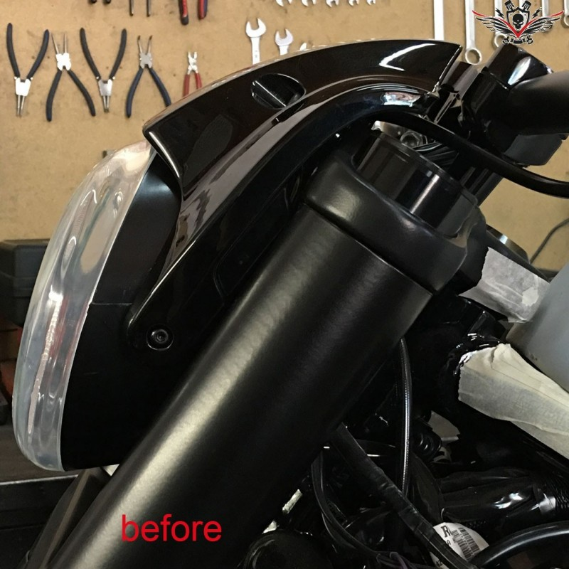 Harley V Rod For Sale >> Harley Headlight Lowering Set V-Rod® Night Rod Special® Muscle®