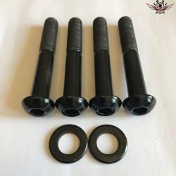 Harley-Davidson Stoßdämpfer Schrauben Schwarz V-Rod® Night Rod Special® Muscle® 2002-2007