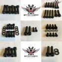 Harley Chassis Schrauben Kit Schwarz V-Rod® Night Rod Special® 2007+