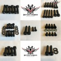 Harley Chassis Screws Kit Black V-Rod® Night Rod Special® Muscle® 2007+