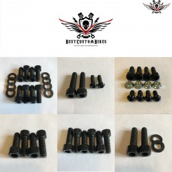 Harley-Davidson Chassis Screws Kit Black V-Rod® Night Rod Special® 2002-2006
