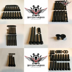 Harley Engine Screws Kit Black Sportster® 2007+