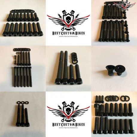 Harley-Davidson Engine Screws Kit Black Sportster® 2007+