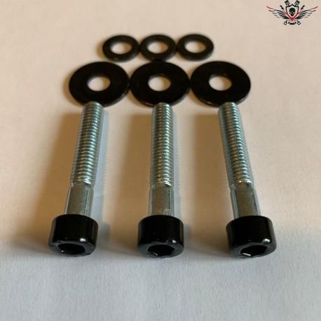 Harley-Davidson Sprocket Cover Screws Black V-Rod® Night Rod Special® Muscle® 2002+
