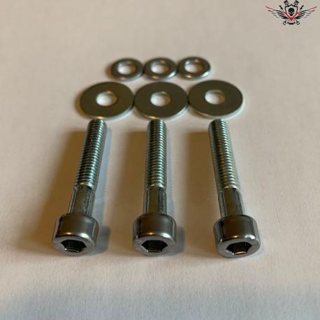 Harley-Davidson Sprocket Cover Screws Chrome V-Rod® Night Rod Special® Muscle® 2002+