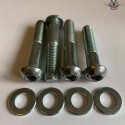 Harley Shock Absorbers Screws Chrome V-Rod® Night Rod Special® Muscle® 2008+