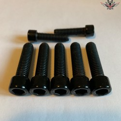 Harley Steering Head Bracket Screws Black Sportster® Bj. 2004-2009