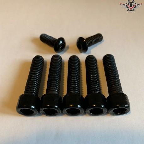 Harley-Davidson Steering Head Bracket Screws Black Sportster® Bj. 2010-2013
