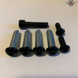 Harley Steering Head Bracket Screws Black Sportster® Bj. 2014+