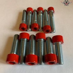 Harley Brake Caliper Screws Set Racing-Red V-Rod® Night Rod Special® Muscle® 2007+